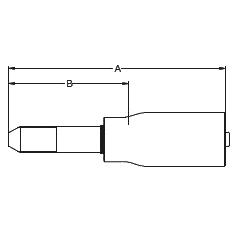 1YM2X / 6YMHX – Трубный штуцер высокого давления с метрической левой резьбой