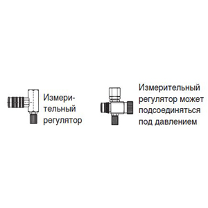 Измерительный регулятор / самовентилирующийся блок