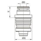 3086 Быстроразъемный переходник на меньший диаметр