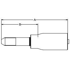 1YM2X / 6YMWX – Трубный штуцер высокого давления с метрической левой резьбой