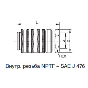 Муфты PD222, PD242