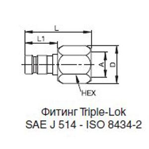 Ниппели; PD312BTX