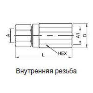 Тип DG 250 DN 6 = 28 мм