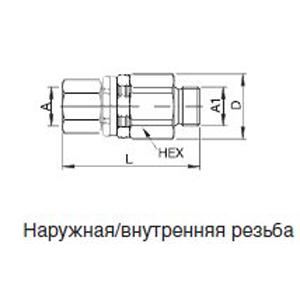 Тип DG 500 DN 11 = 95 мм