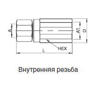 Тип DG 1000 DN 22 = 380 мм