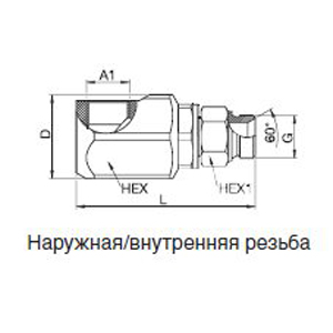Тип KR 90° DN 6 = 28 мм — DN 22 = 380 мм
