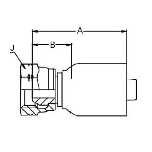 192EH – Внутренний вертлюжного соединения по стандарту BSP (конус 60°)
