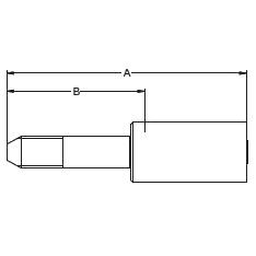 6YMWX – Трубный штуцер высокого давления с левой метрической резьбой