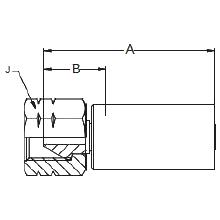 """6AYWX – Внутренний вертлюжного соединения типа """"M"""""""