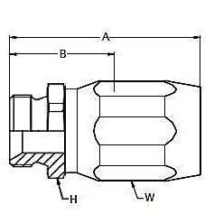 2D9EJ – Наружный по стандарту BSP