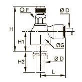 7030 Компактный регулятор вставного типа, выхлоп