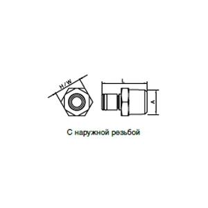 Ниппели - без клапана; медицинская техника