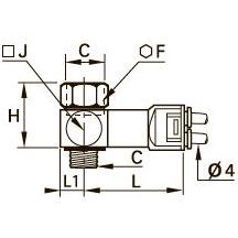 7818 Пневматический датчик давления, наружная резьба BSPP и метрическая