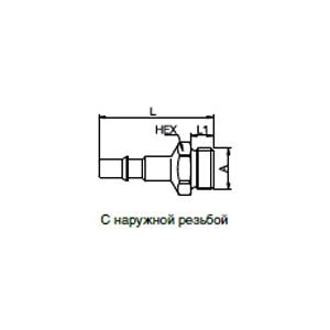 Ниппели - без клапана; обеспечение безопасности