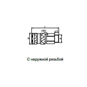 Муфты - с клапаном; кодированные системы