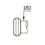 0111 Латунное обжимное кольцо BNA*