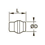 0126 Заглушка для компрессионного фитинга