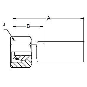 1C98X / 1C9NX – Метрический внутренний вертлюжного соединения тяжелой серии с кольцевым уплотнением ISO 12151-2