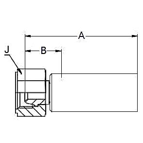 1U08X – Внутренний вертлюжного соединения по стандарту BSP (сферический) С ниппелем из нержавеющей стали