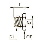 0163 Понижающий редуктор для труб разного сечения, наружная резьба BSPT/внутренняя BSPP