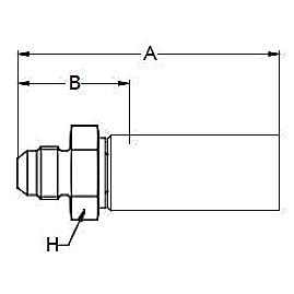 1038X / 103NX – Наружный по стандарту JIC