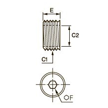 0903 Понижающий редуктор, наружная/внутренняя резьба BSPP