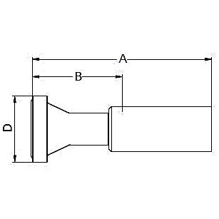 1158X / 115NX – Фланец стандарта SAE, код 61 ISO 12151-3