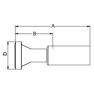 16A8X / 16ANX – Фланец стандарта SAE, код 62 ISO 12151-3
