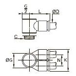 3549 Корпуса «банджо» с двумя параллельными выходами