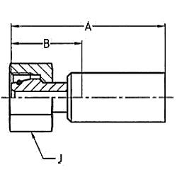 1C98X / 1C93X / 1C9LX – Метрический внутренний вертлюжного соединения Тяжелая серия