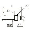 3266 Вставной переходник на меньший диаметр