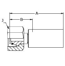 1C98X / 1C9LX / 1C9NX – Метрический внутренний вертлюжного соединения тяжелой серии с кольцевым уплотнением