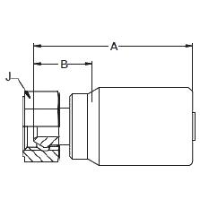 192BS – Внутренний вертлюжного соединения по стандарту BSP (конус 60°)