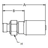 1D9BS – Наружный по стандарту BSP