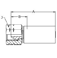 """1AY8X – Внутренний вертлюжного соединения типа """"M"""""""