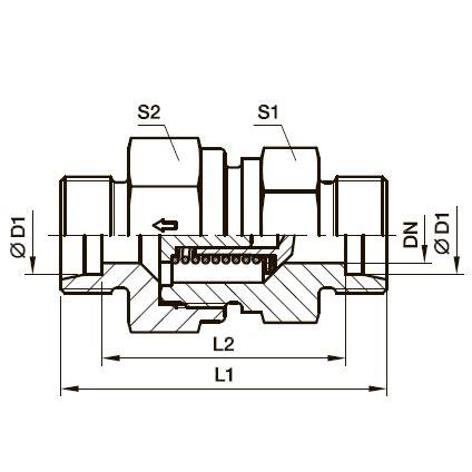 RHD Обратный клапан