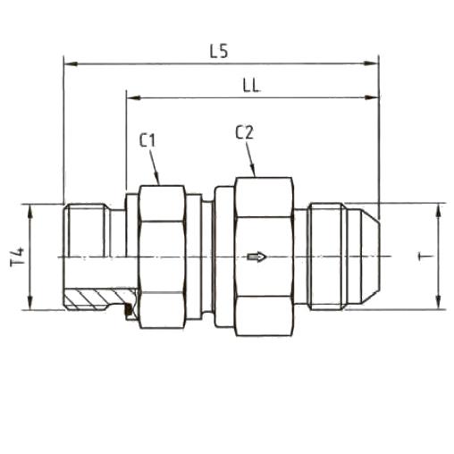 RHV42EDMXS Обратный клапан