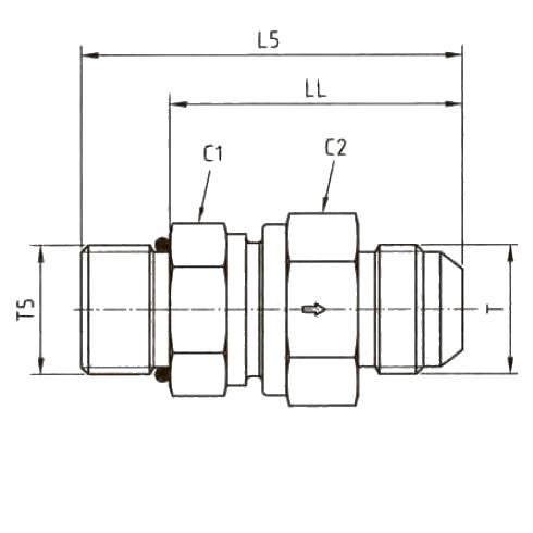 RHV5OMXS Обратный клапан