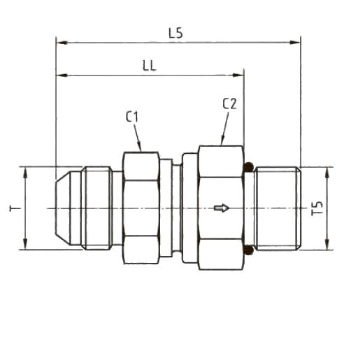 RHZ5OMXS Обратный клапан