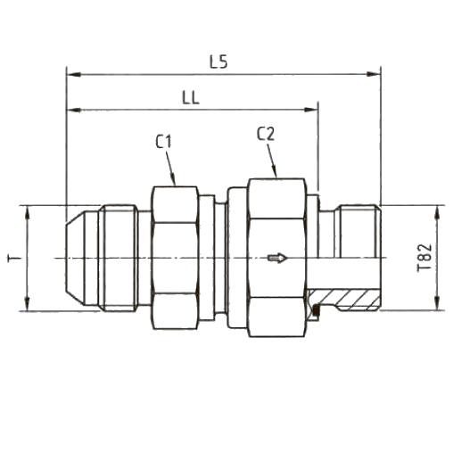 RHV82EDMXS Обратный клапан