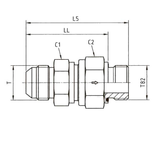 RHZ82EDMXS Обратный клапан