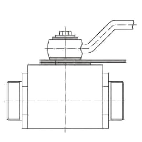 КН Запирающие устройства для двухходовых и многоходовых шаровых кранов. Сталь