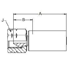 """1AYBL – Внутренний вертлюжного соединения типа """"M"""""""