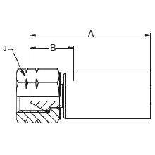 """1AYLX – Внутренний вертлюжного соединения типа """"M"""""""