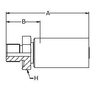 1Y9LX – Наружный по стандарту BSP под резинометаллическое кольцо USIT