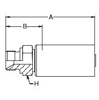 1D6LX – Наружный по стандарту BSP