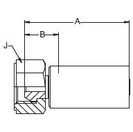 1MRLX – Внутренний вертлюжного соединения конус 59°
