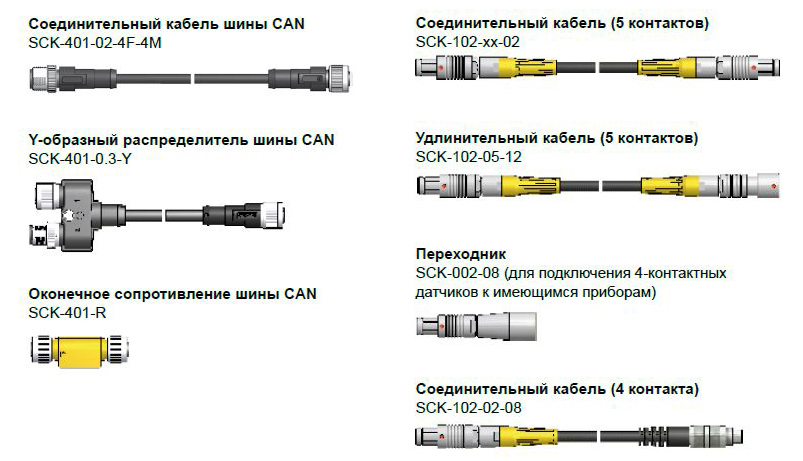 Соединительные кабели SCK